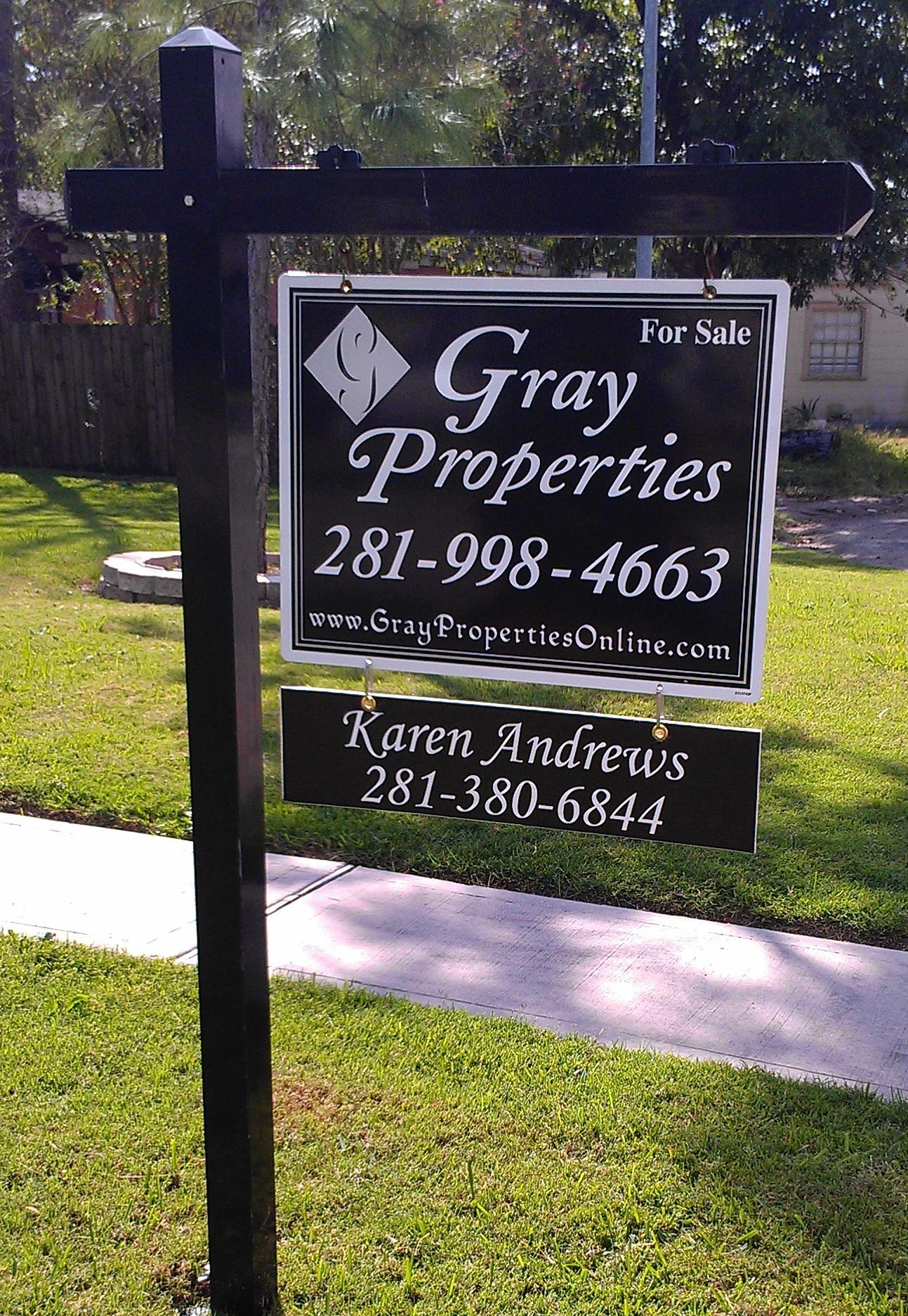 Real Estate Signs Pinnacle Sign Company