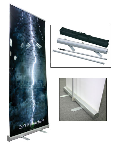 Retractable Banners Amp Stands Pinnacle Sign Company