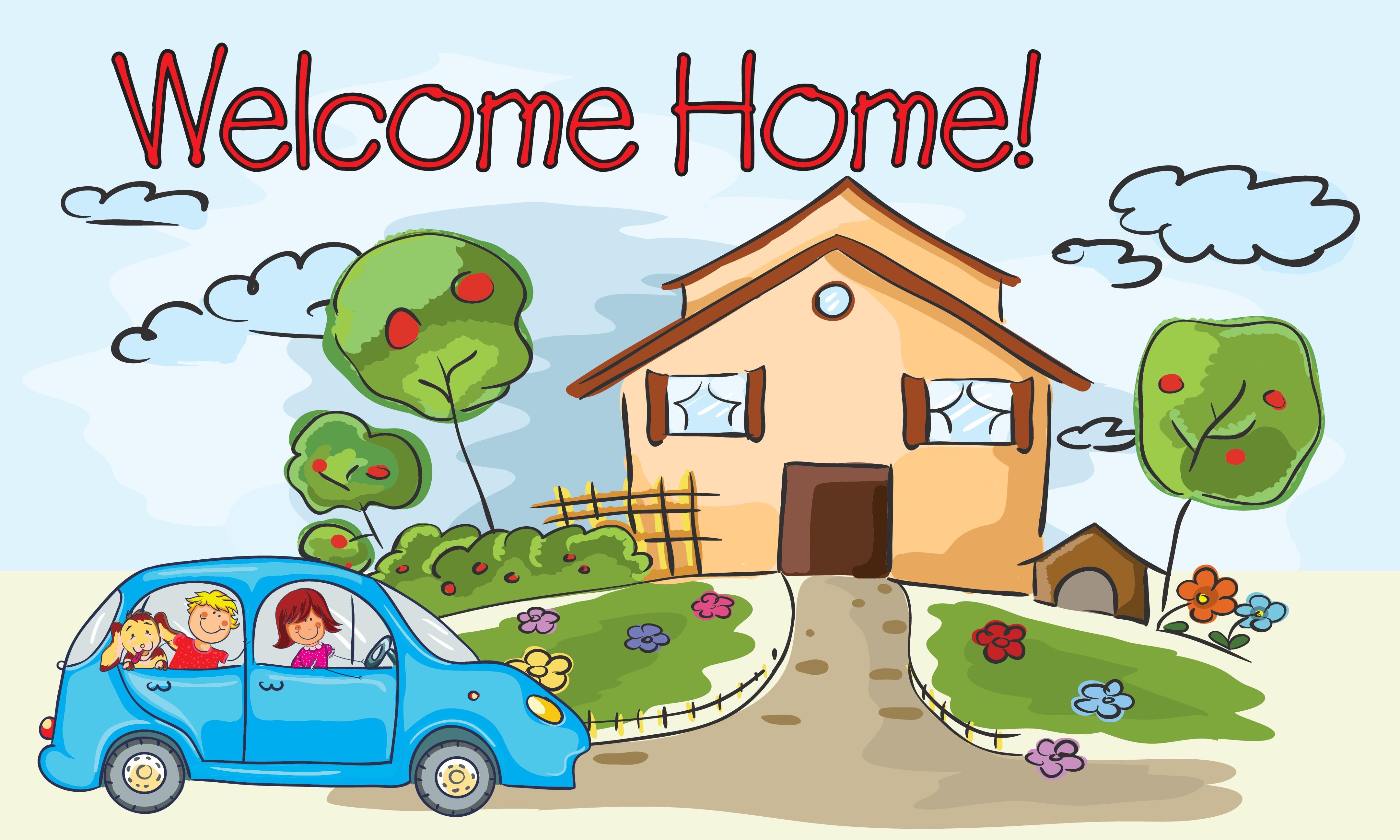 10 Banner 5x3 Welcome Home No Picture Pinnacle Sign