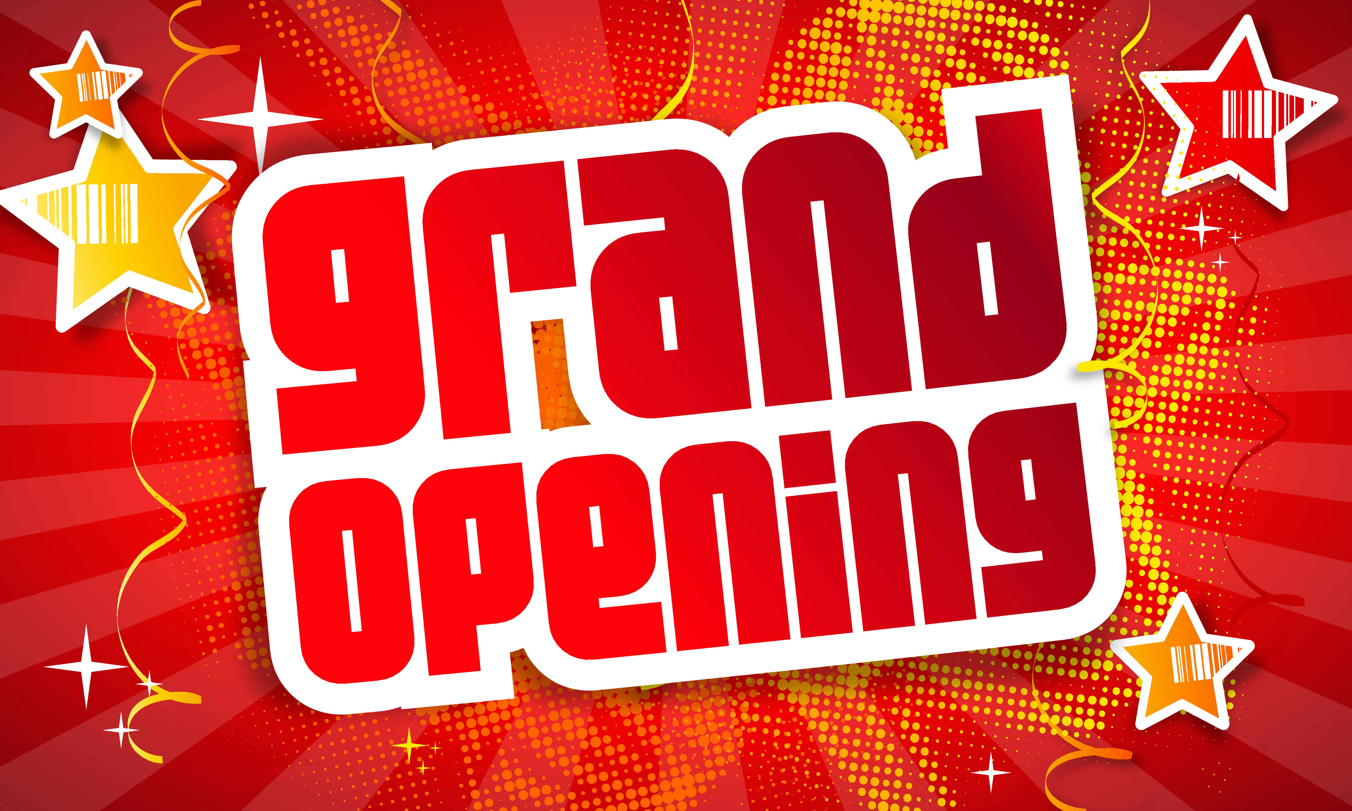 11 Banner 5x3 Grand Opening Standard Pinnacle Sign Company